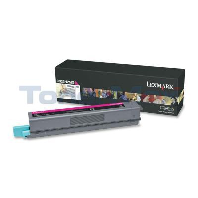 LEXMARK C925 TONER CART MAGENTA HY